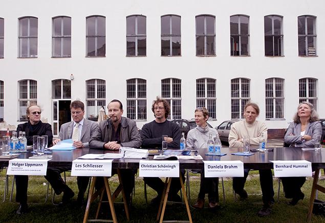 ExRotaprint Pressekonferenz Grundstückserwerb 2007, Foto: Michael Kuchinke-Hofer
