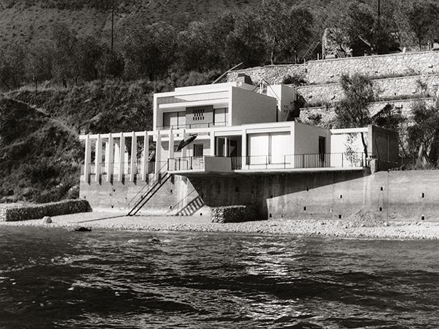 Haus Ziethen in Limone, Gardasee, ExRotaprint, Foto: Kirsten & Nather 1961