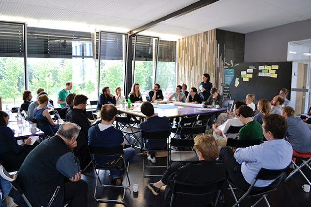 Workshop im ExRotaprint Projektraum, Foto: Urban Research and Design Laboratory